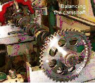 Balancing the camshaft
