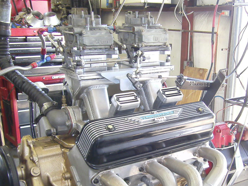 Y-Block Ford – Dual Quad Testing on Aluminum Heads – Part II