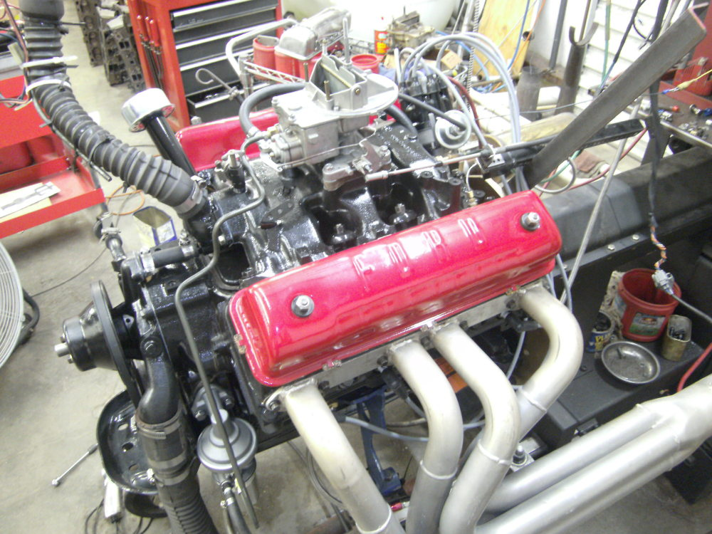 Stock Ford Y build or modified?  Here are two different approaches.